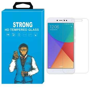 محافظ صفحه نمایش شیشه ای تمپرد مدل Strong مناسب برای گوشی شیاومی Redmi Note 5a