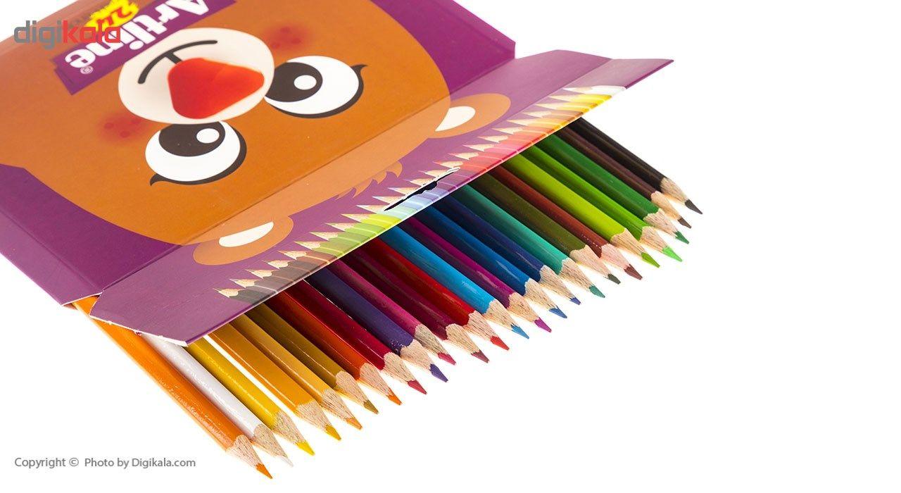 مداد رنگی 24 رنگ آرت لاین مدل ECP24PIL main 1 3