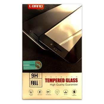 محافظ صفحه نمایش شیشه ای تمام چسب البرنو مدل TEMPERED مناسب برای گوشی موبایل آیفون 7 پلاس و 8 پلاس