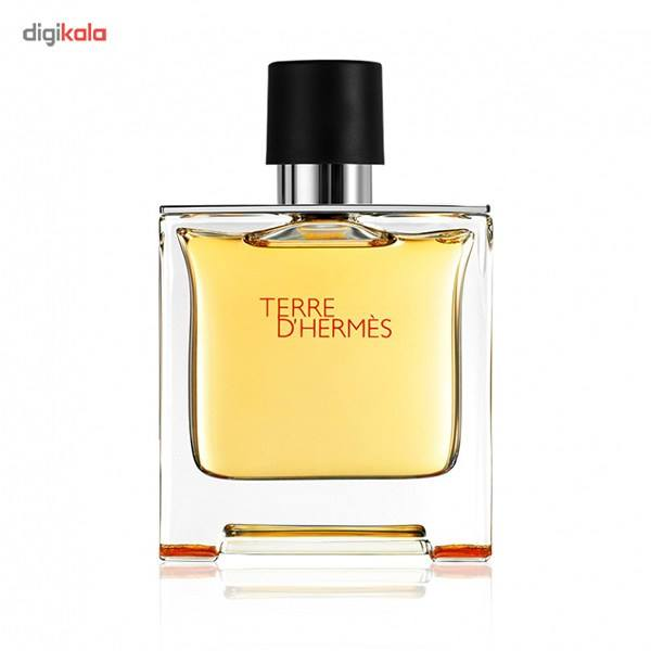پرفیوم مردانه هرمس مدل Terre dHermes حجم 75 میلی لیتر  Hermes Terre dHermes Parfum For Men 75ml