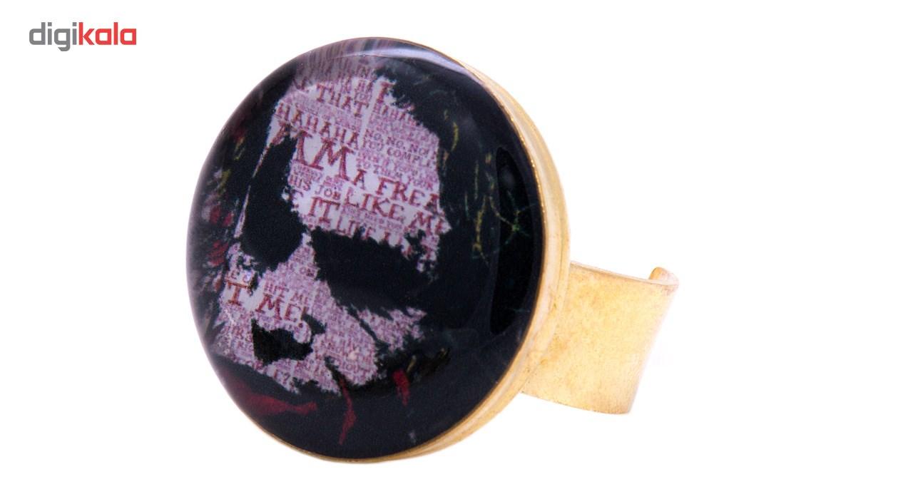 انگشتر باربد طرح نقاشی جوکر  کد R5321
