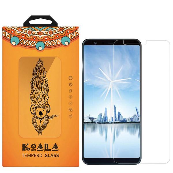 محافظ صفحه نمایش شیشه ای کوالا مدل Tempered مناسب برای گوشی موبایل ایسوس Zenfone Max Plus ZB570TL