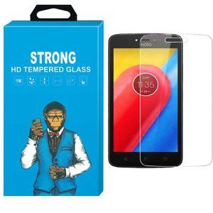 محافظ صفحه نمایش شیشه ای تمپرد مدل Strong مناسب برای گوشی موتورولا Moto Cpllus