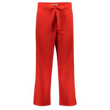 شلوار بگ گشاد قد 90  زنانه قرمز مدل 234