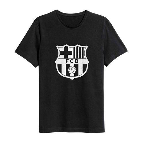 تی شرت نخی ورزشی ماسادیزان مدل بارسلونا کد 201