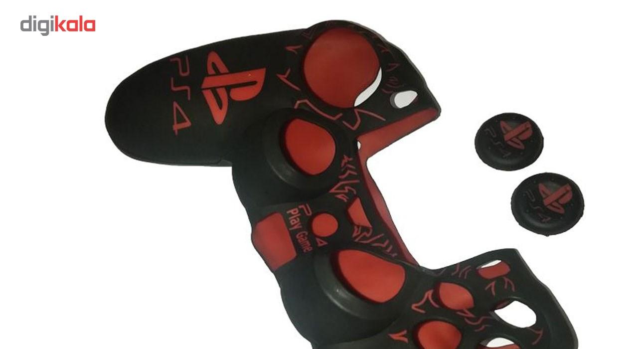 روکش سیلیکونی آنالوگ استیک مدل PS4