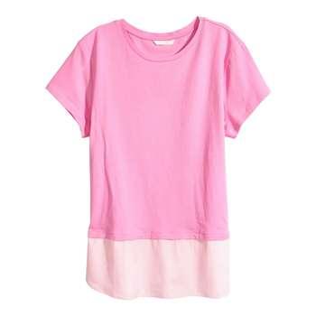تی شرت آستین کوتاه زنانه اچ اند ام مدل 052993099