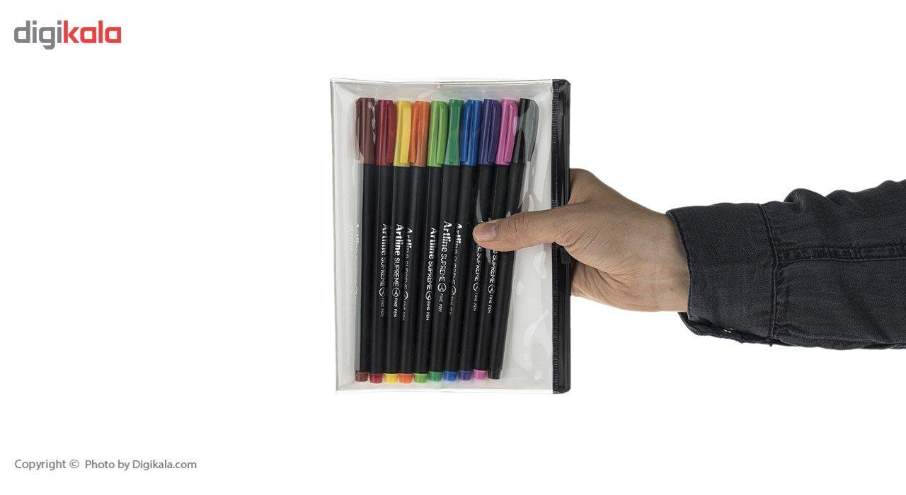 روان نویس 10 رنگ آرت لاین سری سوپریم مدل EPFS-200 main 1 6