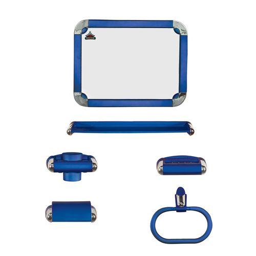 ست سرویس بهداشتی 5 پارچه نگار  مدل 500  به همراه آینه