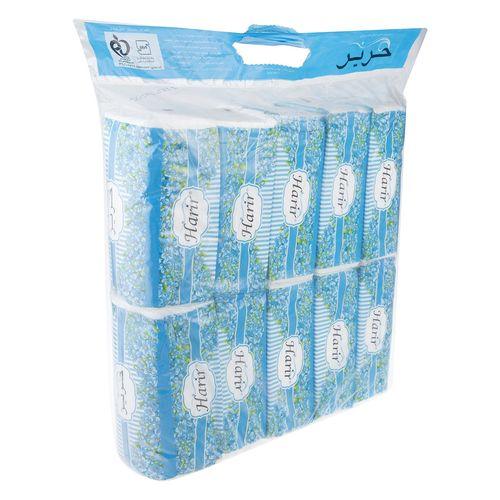 دستمال کاغذی 100 برگ حریر بسته 10 عددی