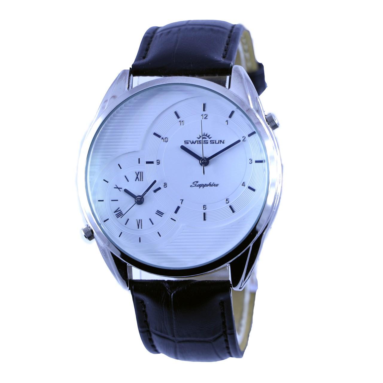 ساعت مچی عقربه ای مردانه سوئیس سان مدل g3284