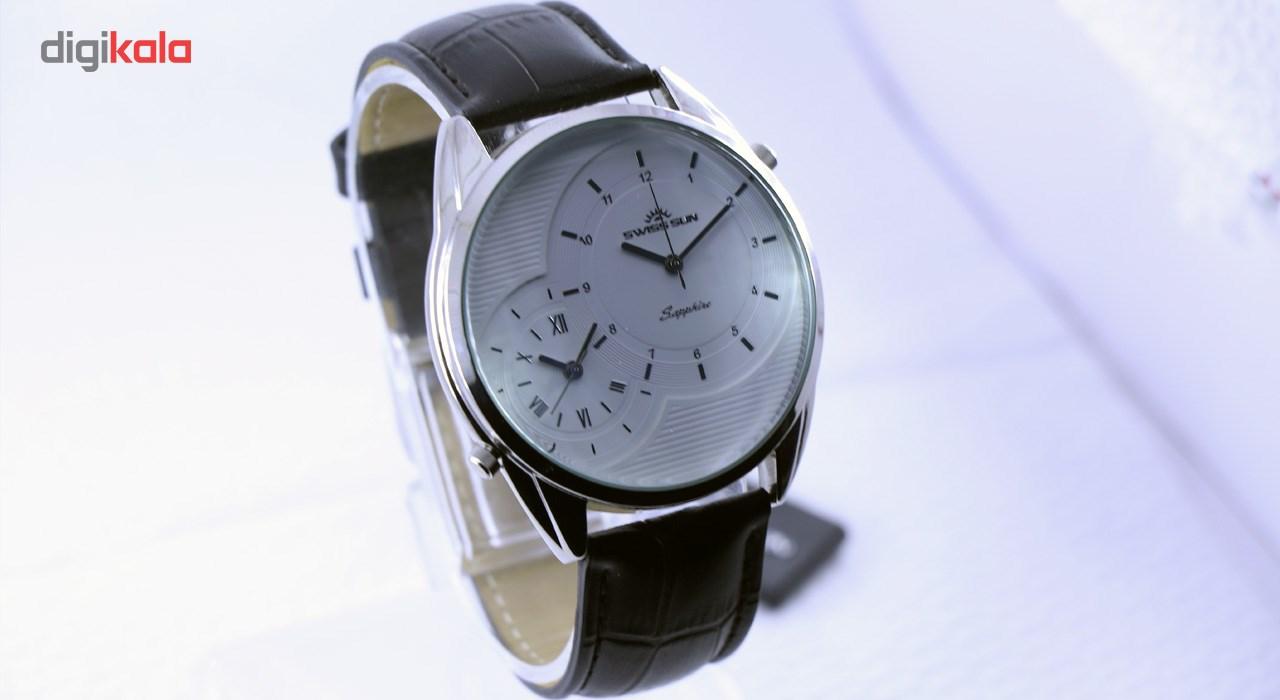 خرید ساعت مچی عقربه ای مردانه سوئیس سان مدل g3284 | ساعت مچی