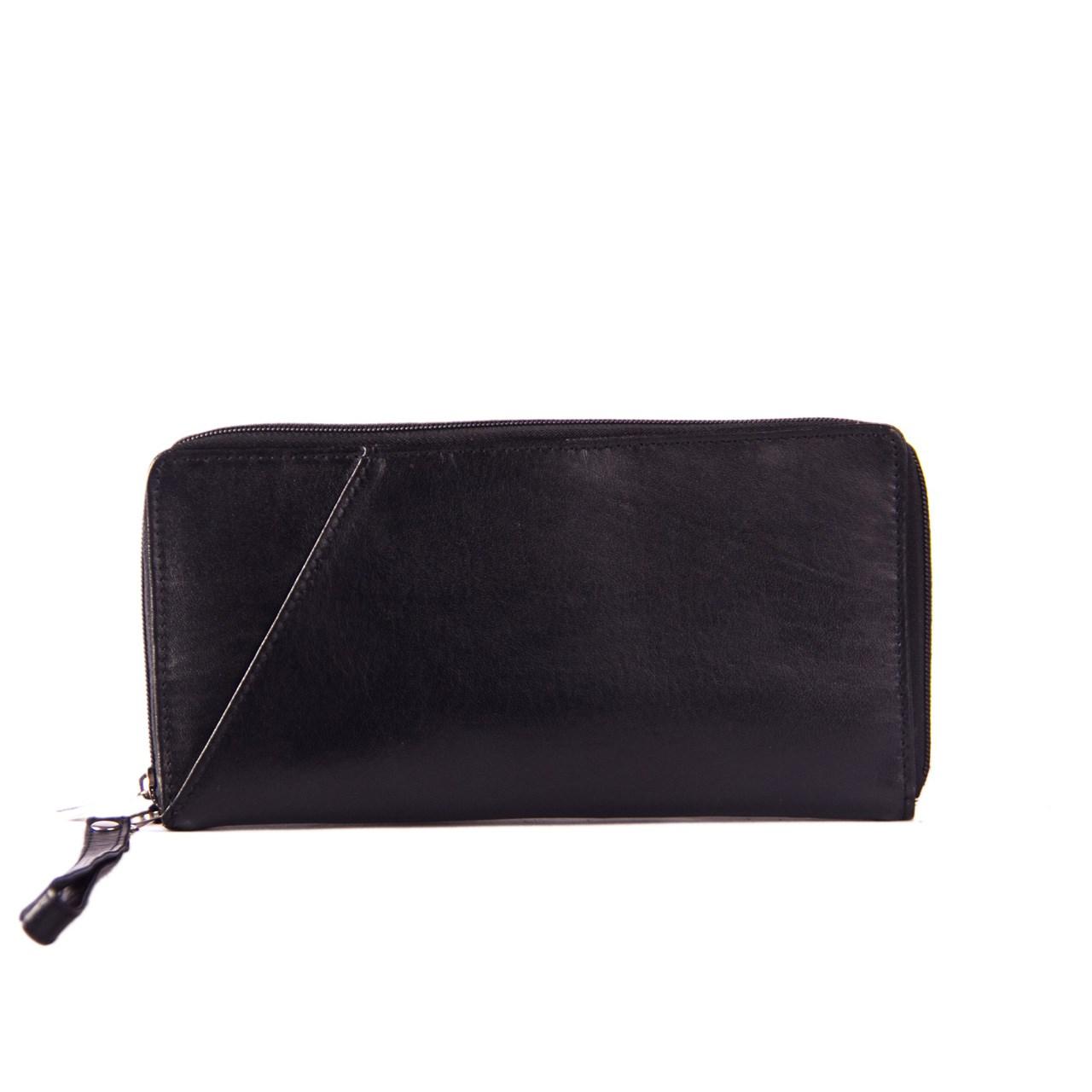 کیف پاسپورتی چرم طبیعی آدین چرم مدل DG14