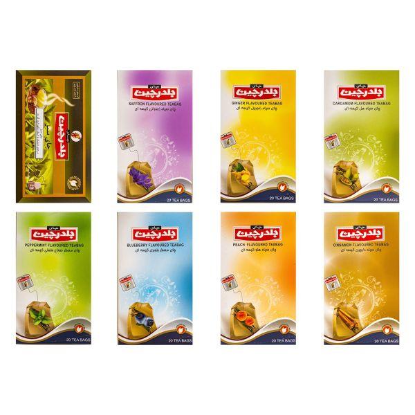 چای معطر کیسه ای بلدرچین بسته 8 عددی