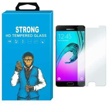 محافظ صفحه نمایش شیشه ای تمپرد مدل Strong مناسب برای گوشی  سامسونگ گلکسی A3 2016/A310