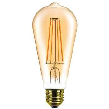 لامپ ال ای دی 8 وات هالی استار مدل ST64 پایه E27