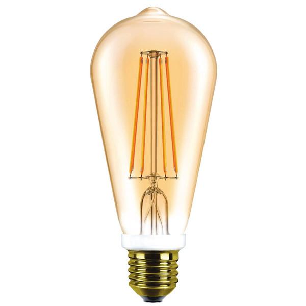 لامپ ال ای دی 8 وات هالی استار کد ST64 پایه E27