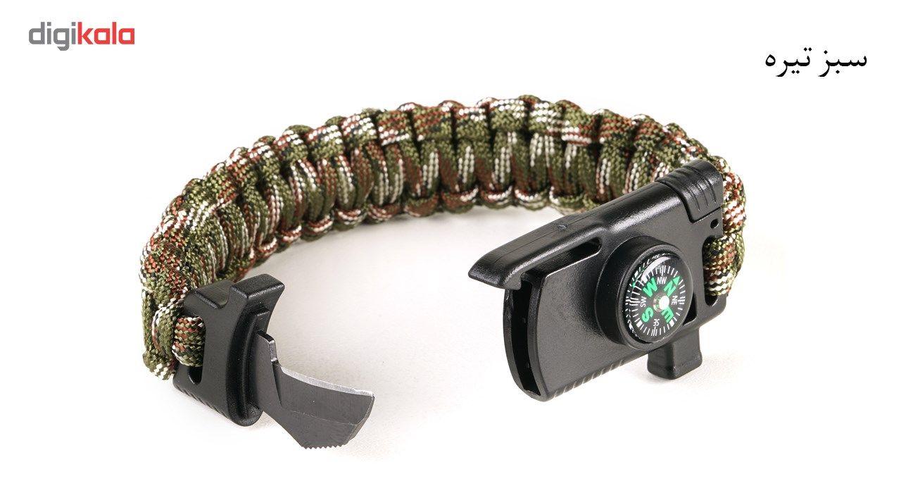 دستبند پاراکورد مدل Tactical 2 main 1 4