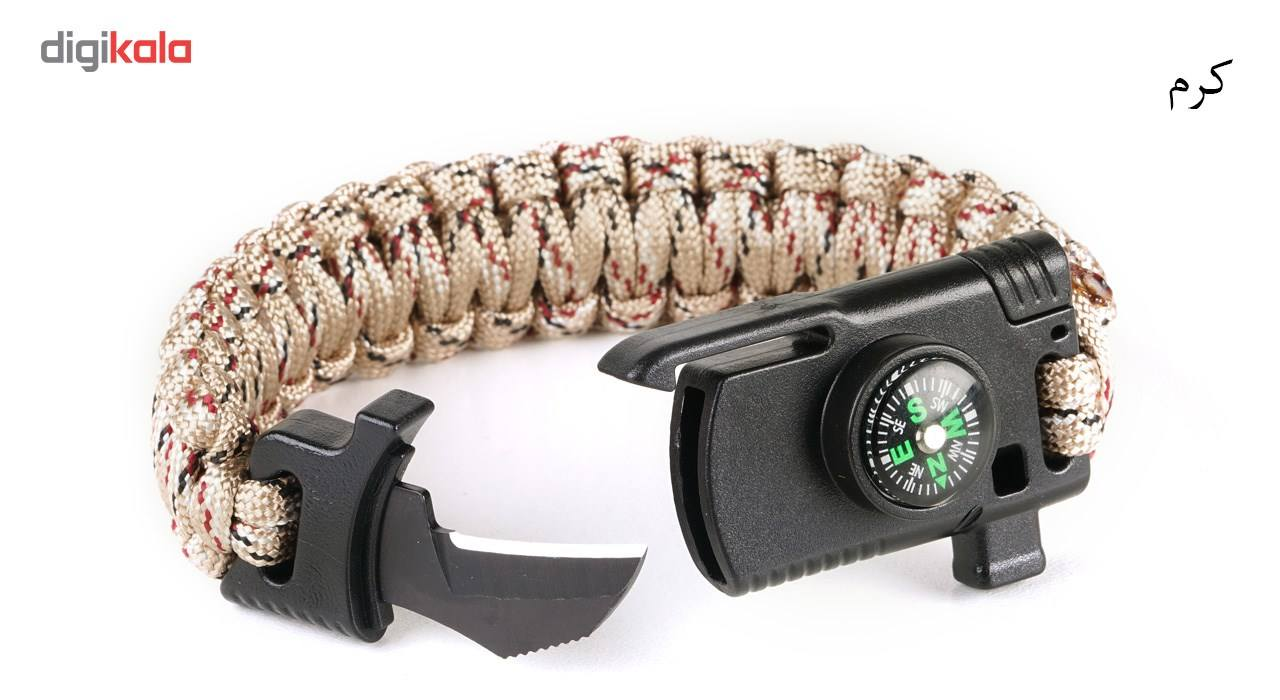دستبند پاراکورد مدل Tactical 2 main 1 5