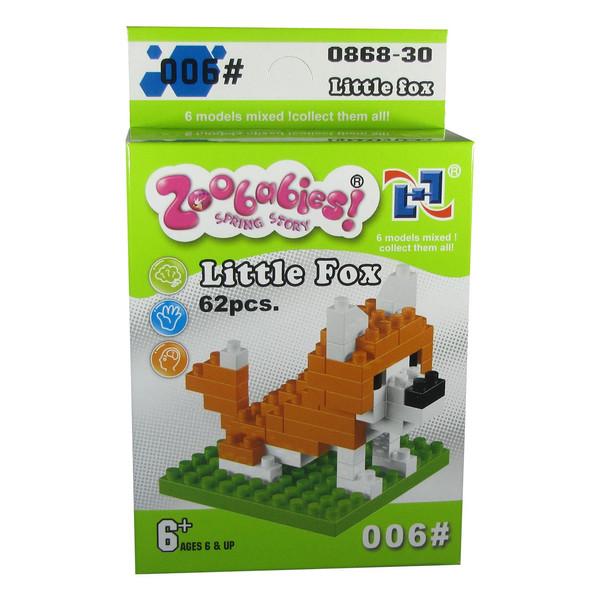 ساختنی لگو گودی اسلایم سری Zoo babies مدل 30-0868 سری کامل 6 بسته و 6 طرح