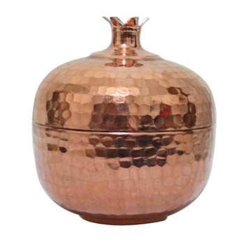 قندان مسی زنجان آرت گالری مدل Pomegranate کد 23
