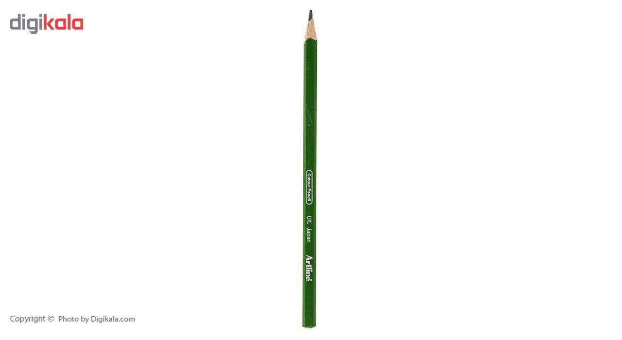 مداد رنگی 12 رنگ آرت لاین مدل ECP12PIL main 1 4