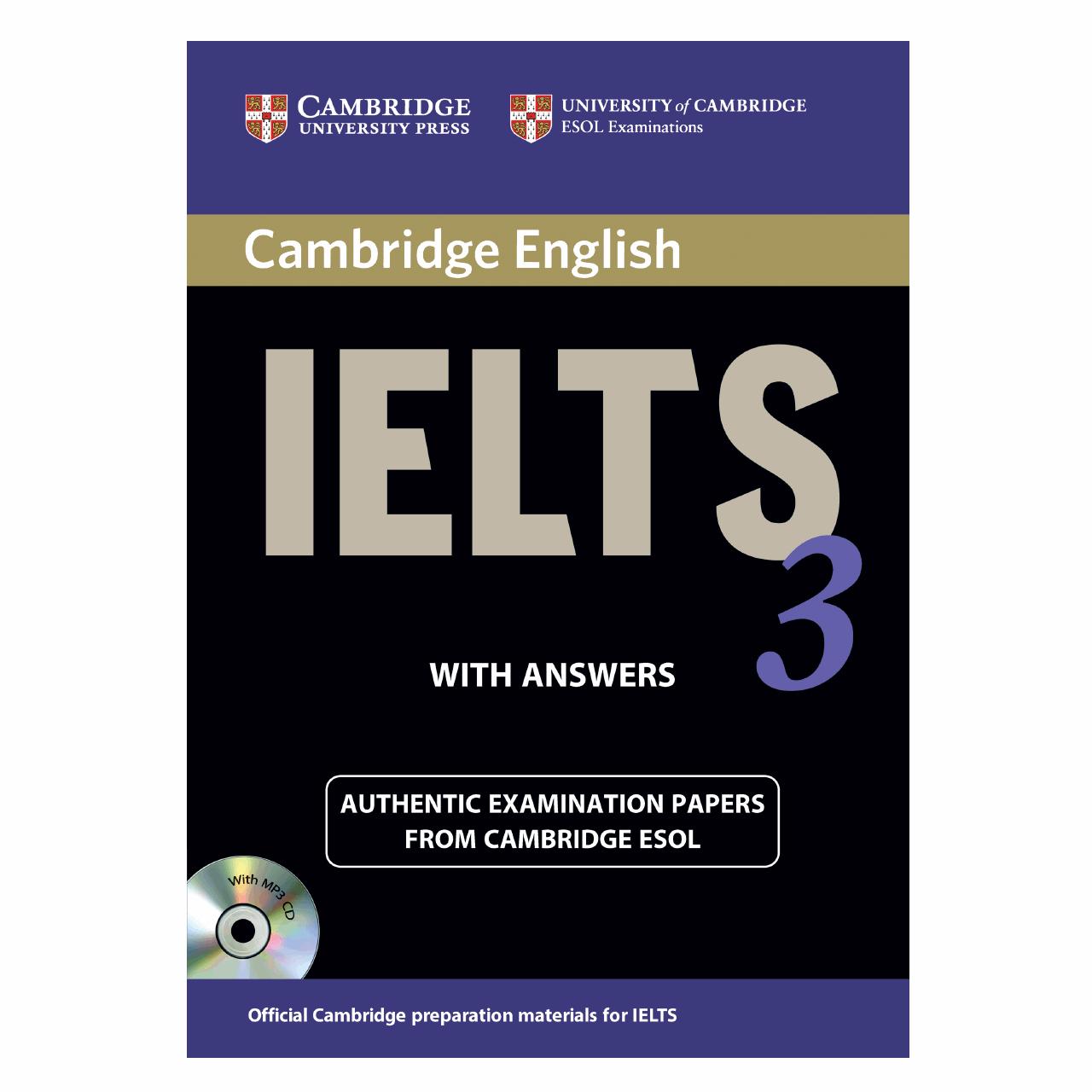 خرید                      کتاب زبان IELTS Cambridge 3 همراه با CD انتشارات کمبریج