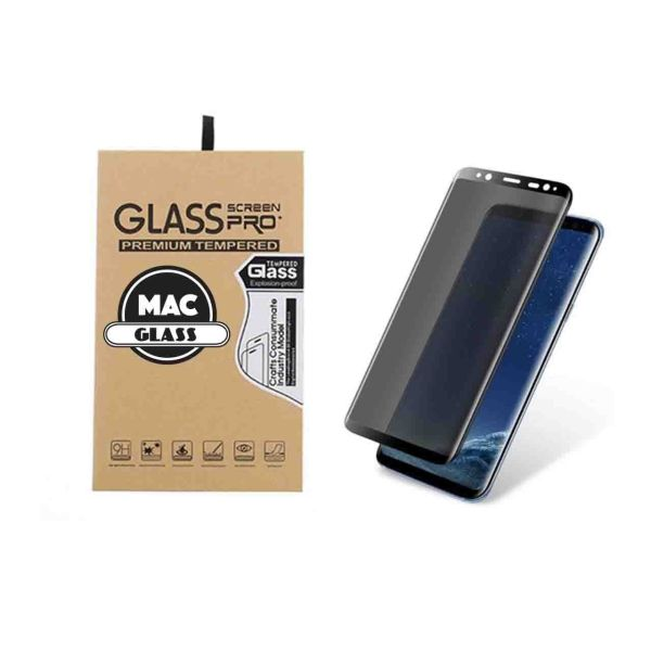 محافظ صفحه نمایش شیشه ای مک گلس مدل 6D مناسب برای گوشی سامسونگ Galaxy S8