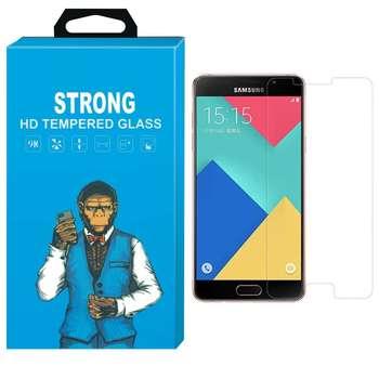 محافظ صفحه نمایش شیشه ای تمپرد مدل Strong مناسب برای گوشی  سامسونگ گلکسی A9