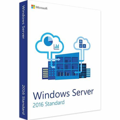 نرم افزار مایکروسافت ویندوز سرور 2016 نسخه استاندارد ریتیل