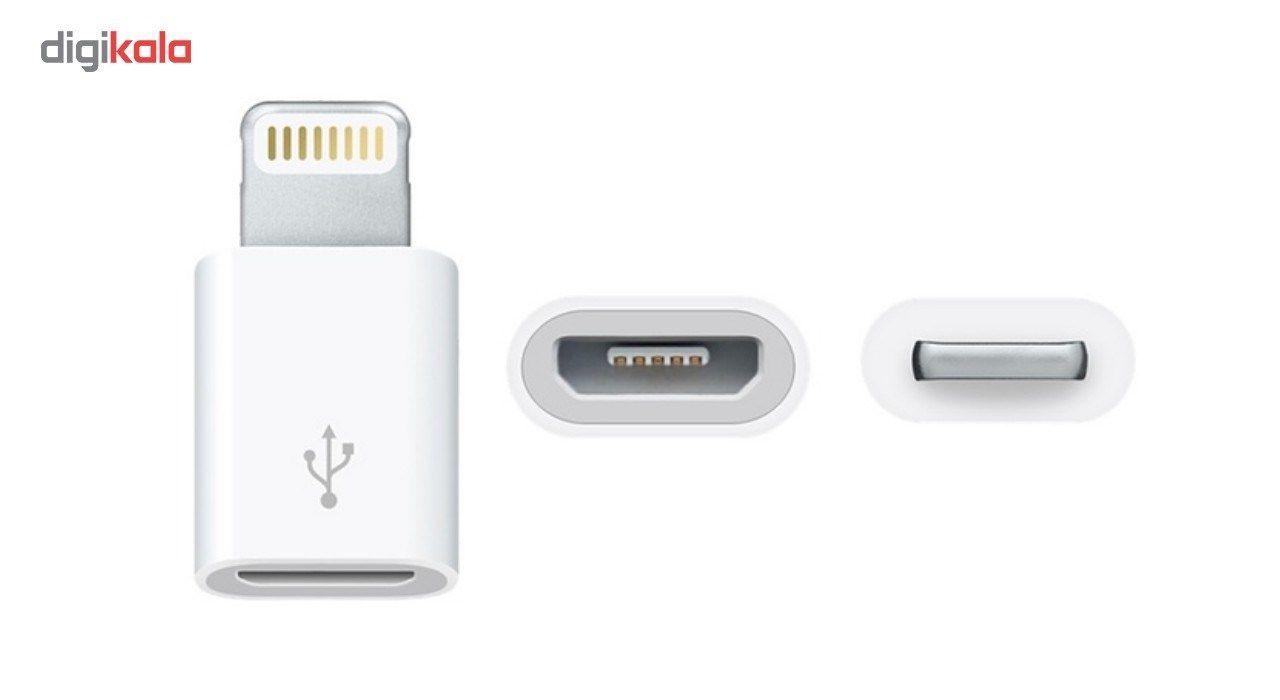 تبدیل micro USB به لایتنینگ مدل lightning adapter main 1 2