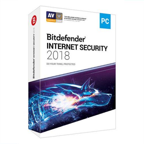 نرم افزار آنتی ویروس بیت دیفندر اینترنت سکیوریتی 2018- 1 کاربر - 15 ماهه