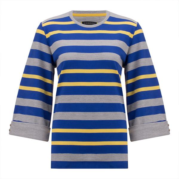 تی شرت زنانه سیاوود مدل 7210100 X-N-YEL