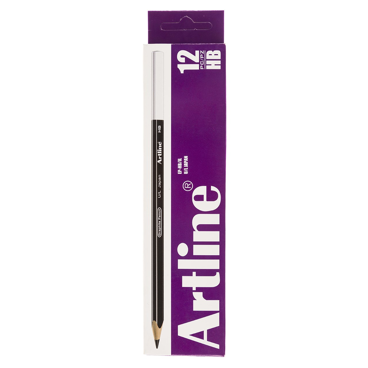 مداد مشكي آرت لاين مدل EP-HB/IL بسته 12 عددي