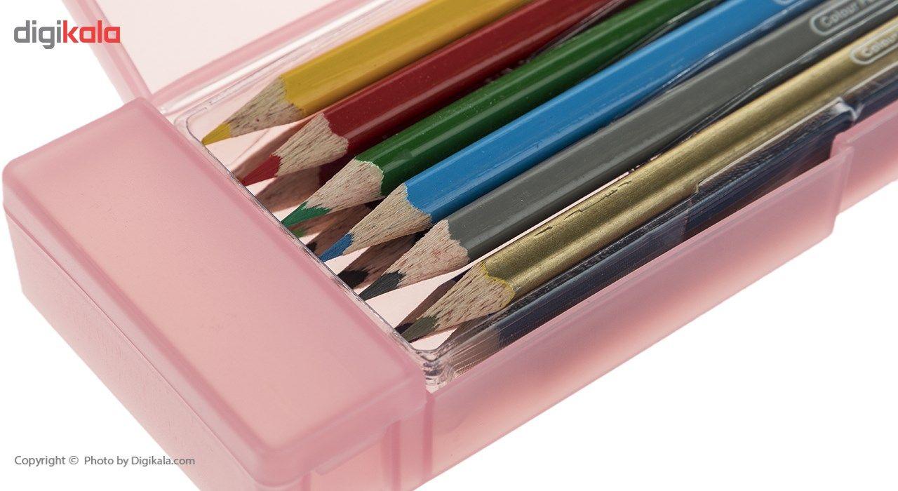 مداد رنگی 12 رنگ آرت لاین مدل ECP12PLS/IL main 1 3