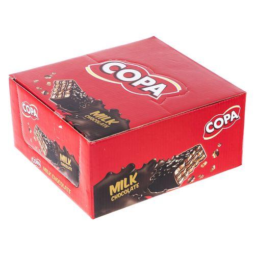 ویفر با روکش شکلات شیری کوپا بسته 30 عددی