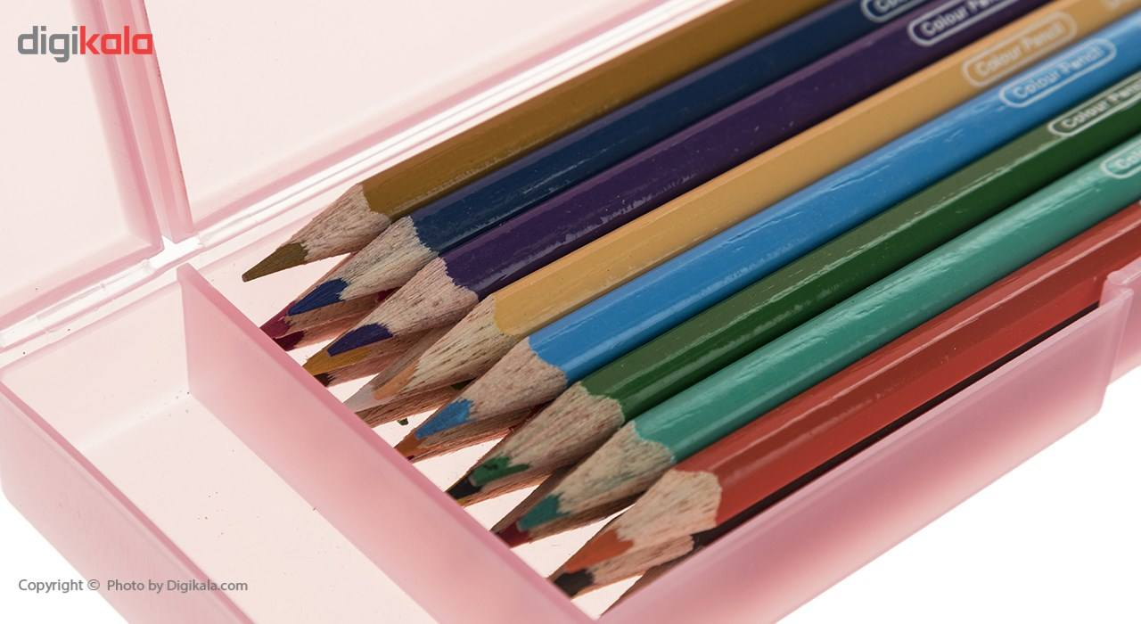 مداد رنگی 12 رنگ آرت لاین مدل ECP12PLS/IL main 1 7