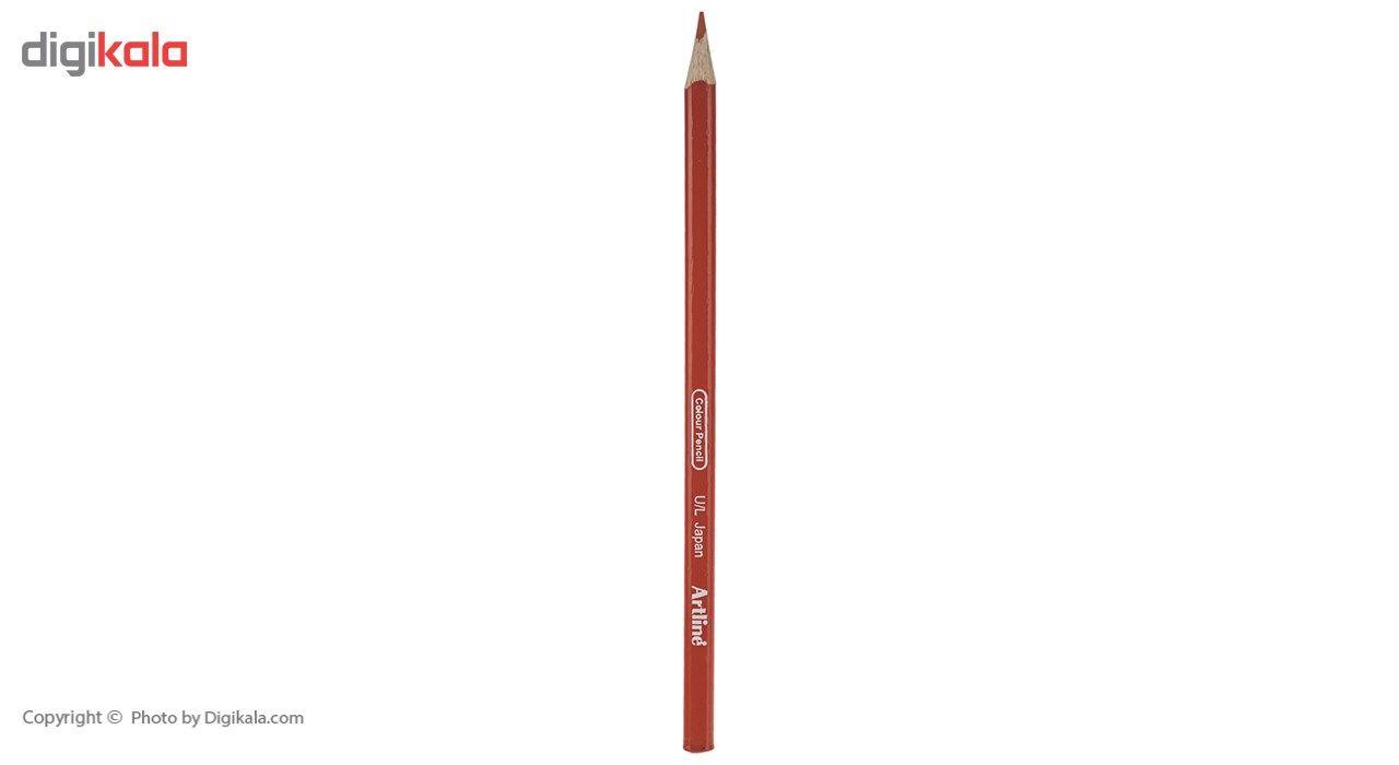 مداد رنگی 12 رنگ آرت لاین مدل ECP12PLS/IL main 1 9