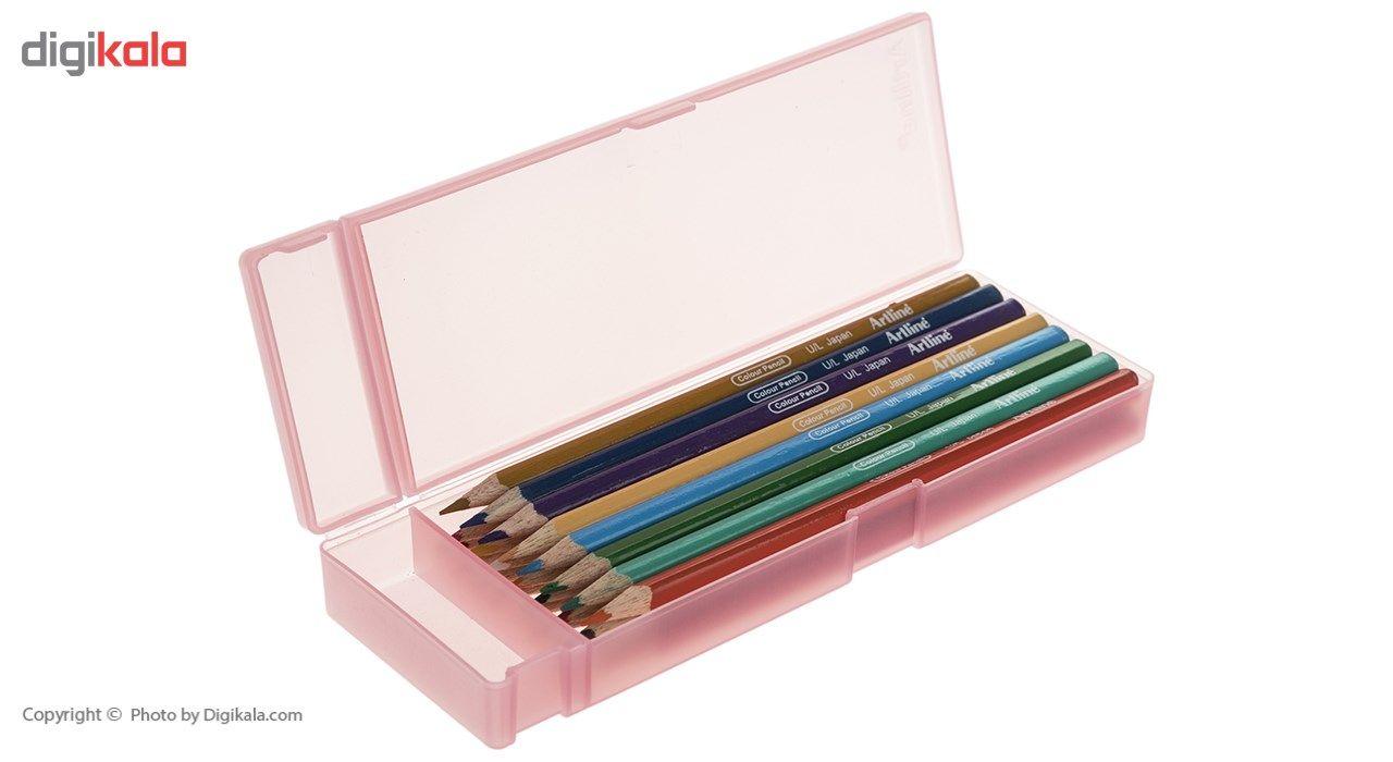 مداد رنگی 24 رنگ آرت لاین مدل ECP24PLS/IL main 1 1
