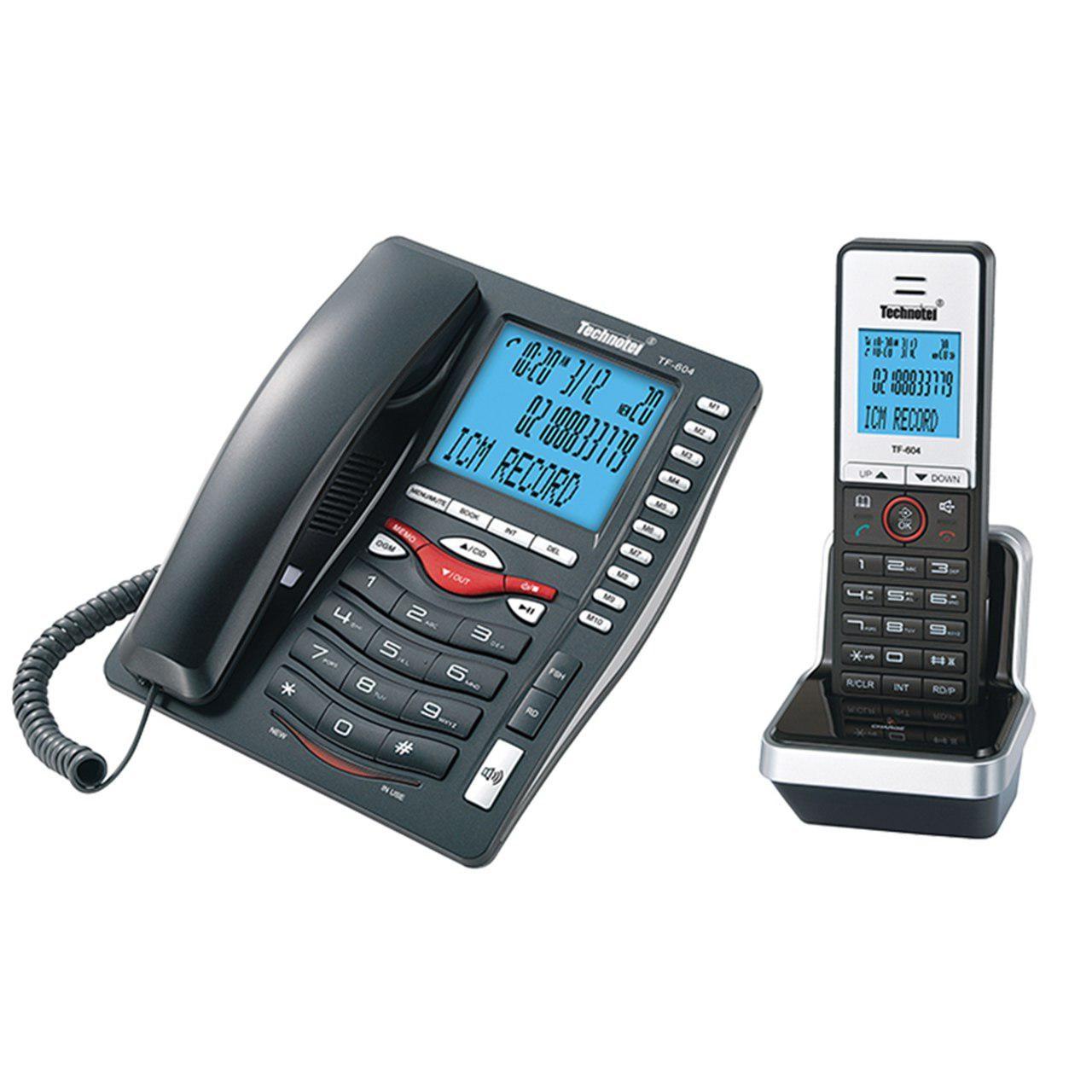 تلفن بی سیم تکنوتل مدل TF-604
