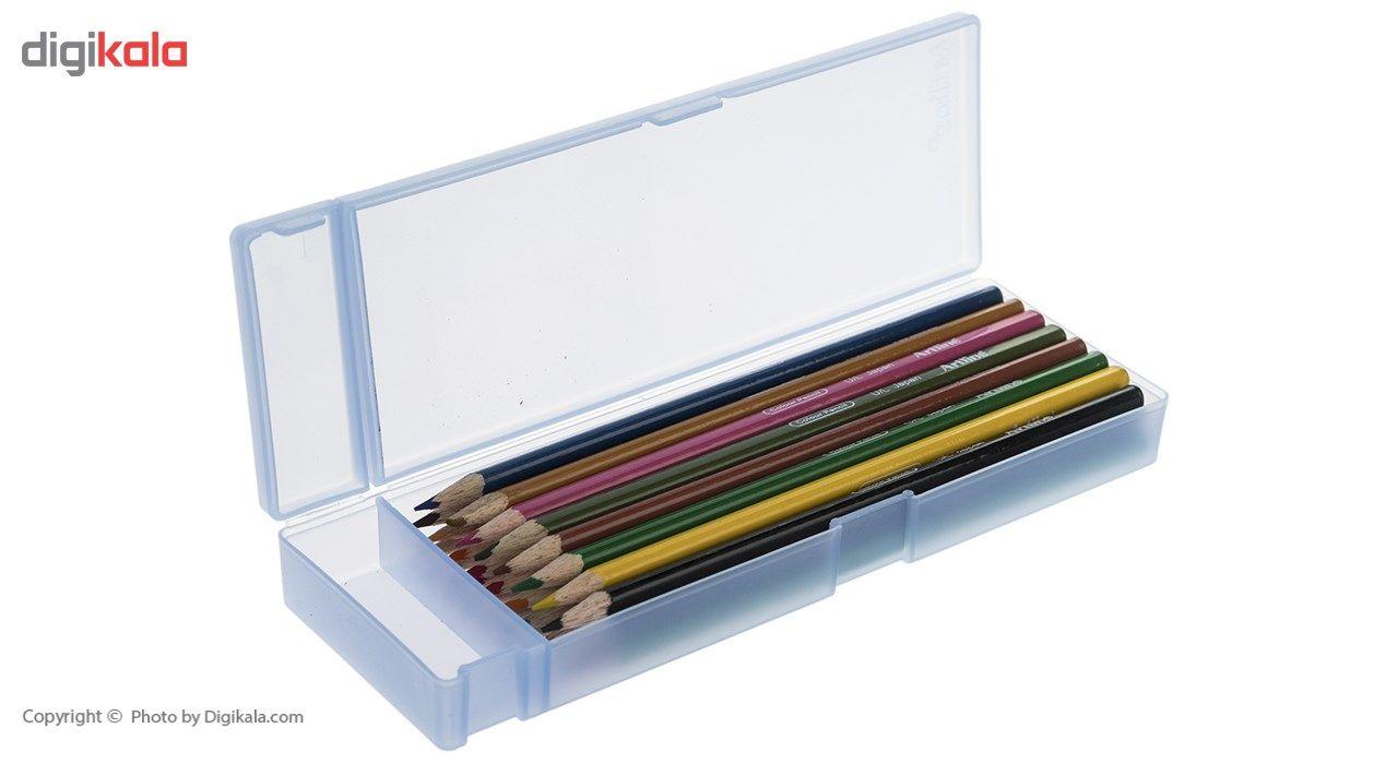 مداد رنگی 24 رنگ آرت لاین مدل ECP24PLS/IL main 1 6