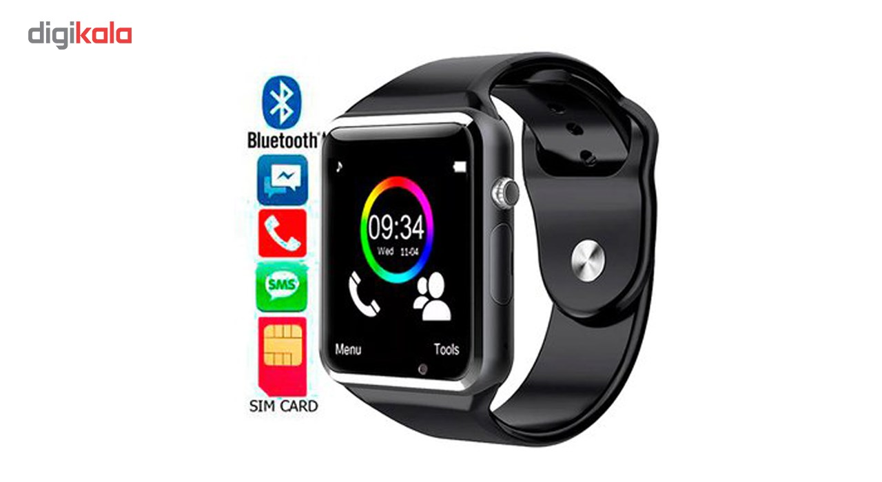 خرید ساعت هوشمند نوا مدل A1 به همراه باتری اضافه اسمارت الکتریک