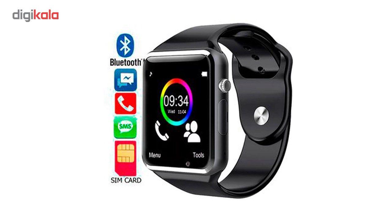 ساعت هوشمند نوا مدل A1 به همراه باتری اضافه اسمارت الکتریک main 1 2