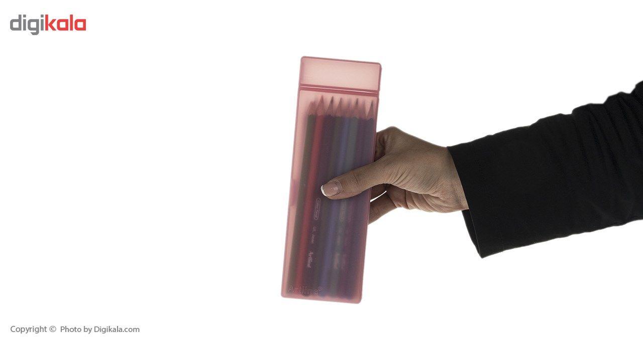 مداد رنگی 24 رنگ آرت لاین مدل ECP24PLS/IL main 1 7