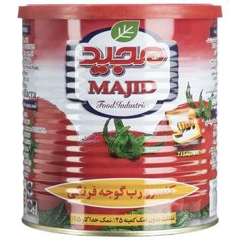 کنسرو رب گوجه فرنگی مجید مقدار 800 گرم
