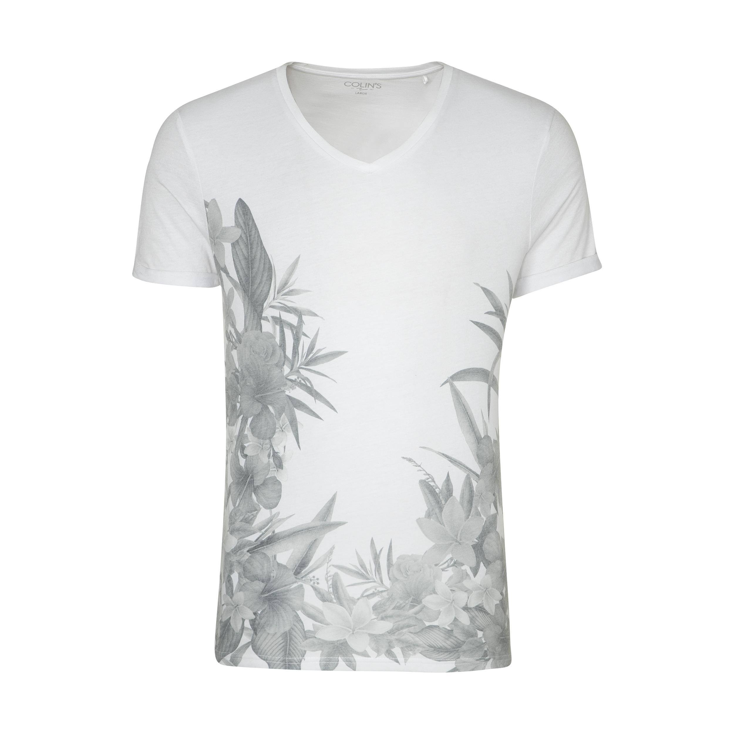 تی شرت مردانه کالینز مدل CL1034293-WHITE
