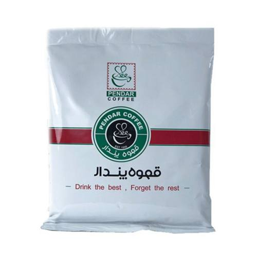 بسته قهوه پندار مدل پودر قهوه سبز  روبوستا