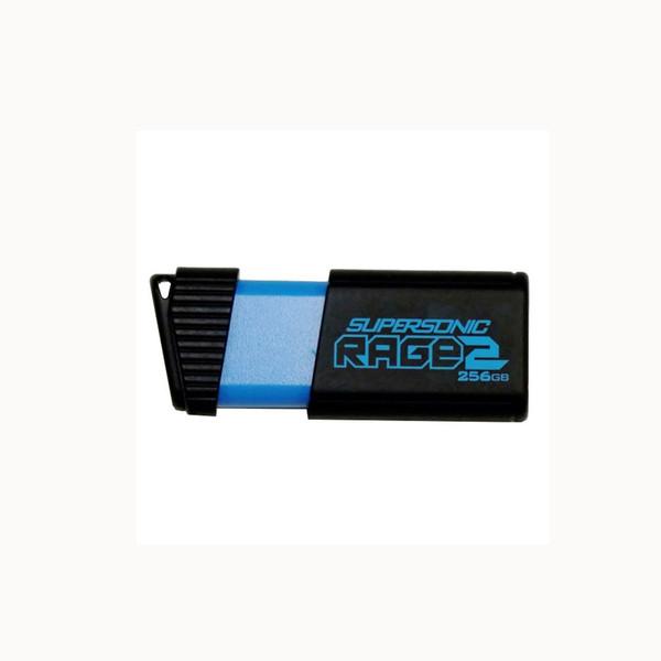 فلش مموری پتریوت مدل Supersonic Rage2 USB3.1 ظرفیت 256 گیگابایت