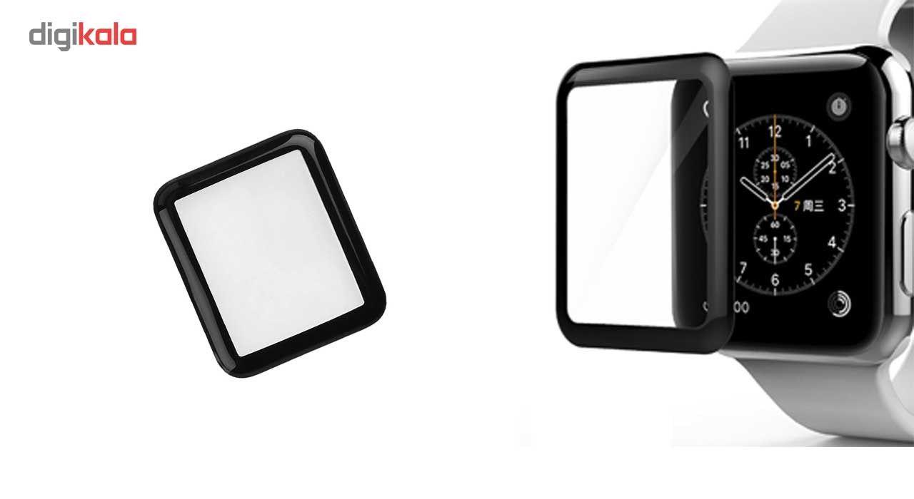 محافظ صفحه نمایش شیشه ای آی واچ مدل 3D مناسب اپل واچ سایز 42 میلی متر main 1 1