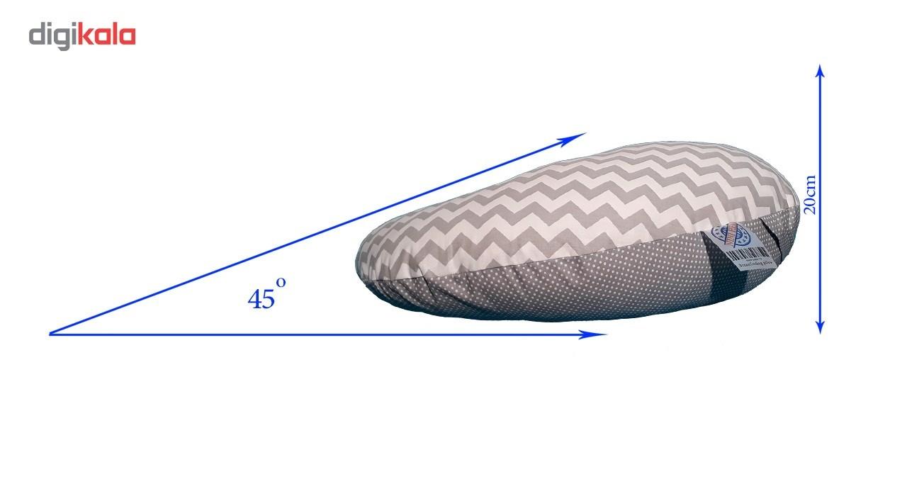 بالش شیردهی نی نی هلپ مدل راه راه main 1 3
